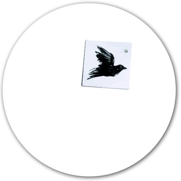 Magnetic sticker - white-1