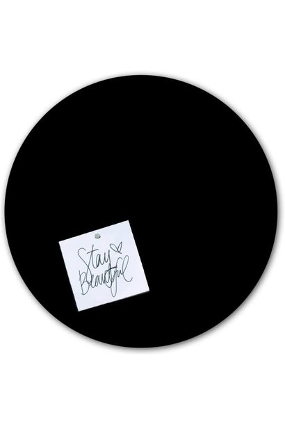 Magnetic sticker - black