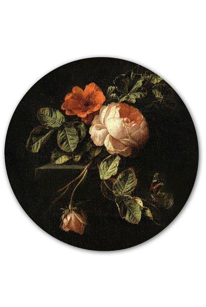 Magnetic sticker - flowers
