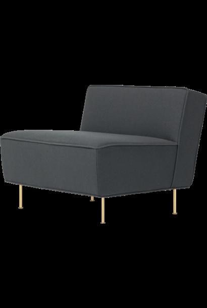 Modern Line Lounge Chair - Kvadrat Tonus 3-615