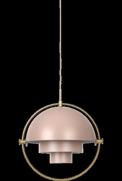 Multi Lite Pendant - Messing (meerdere kleuren)