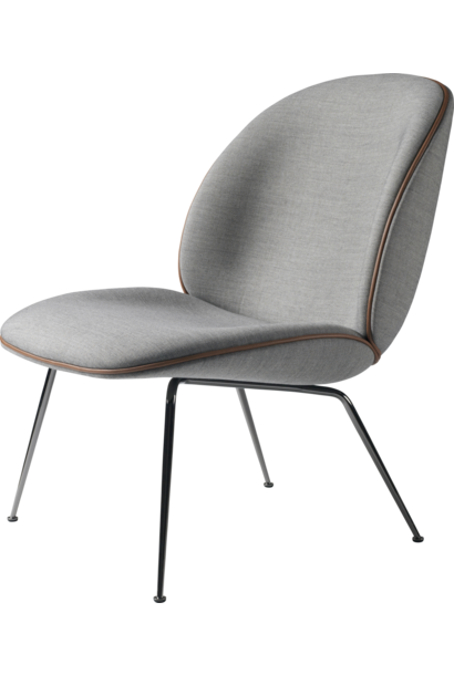 Beetle Lounge Chair - Black conic base - vanaf € 1340,00 (stofferingsopties)