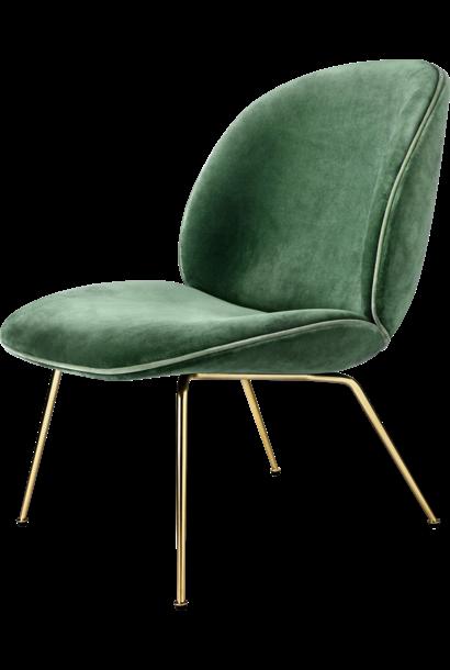 Beetle Lounge Chair - Brass / Black Chrome - vanaf € 1470,00 (stofferingsopties)