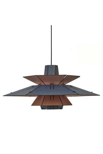 PM5 Hanglamp - Blauw/Roze