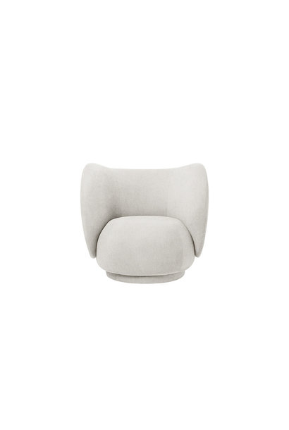 Rico Lounge Chair - Bouclé (meerdere kleuren)