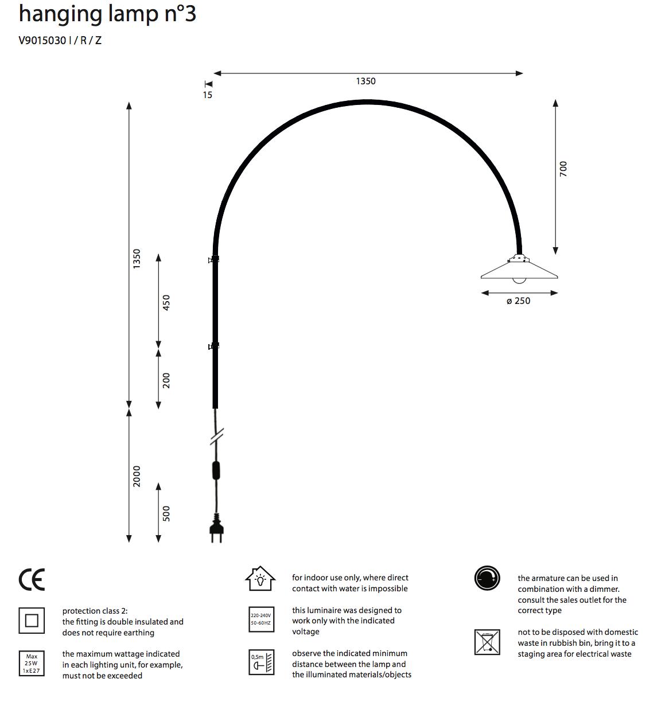 Hanging Lamp No. 3-5
