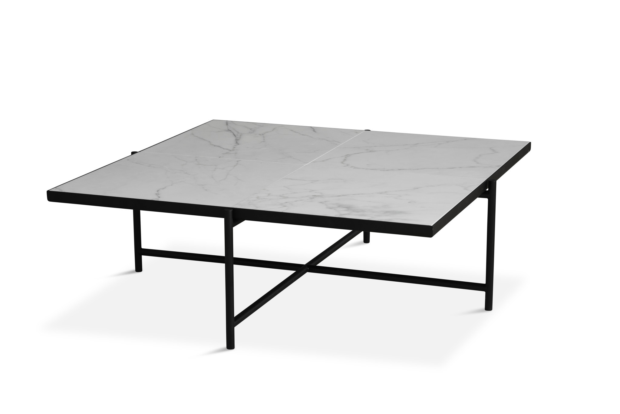 Coffee Table 90 - black frame-3