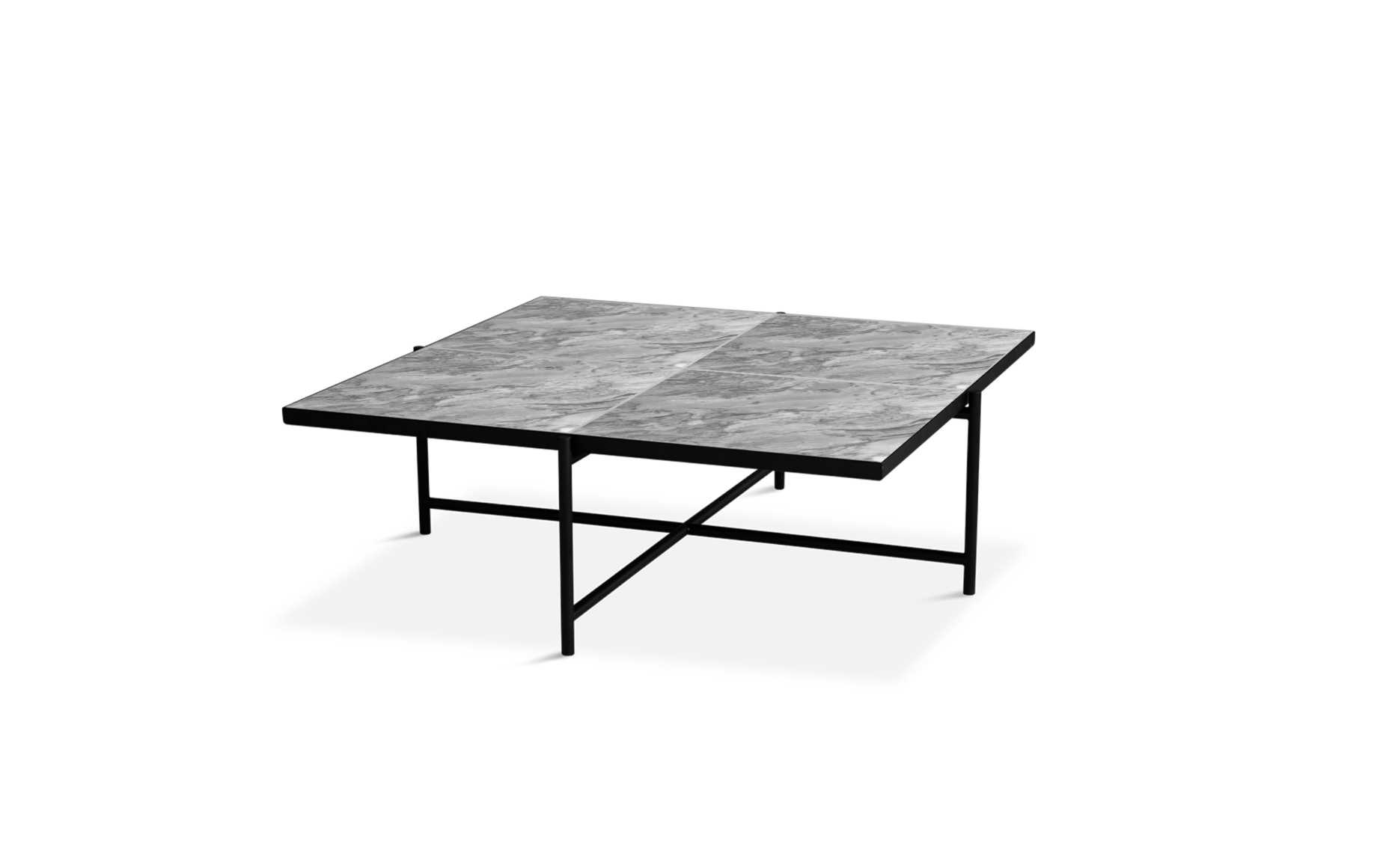 Coffee Table 90 - black frame-4