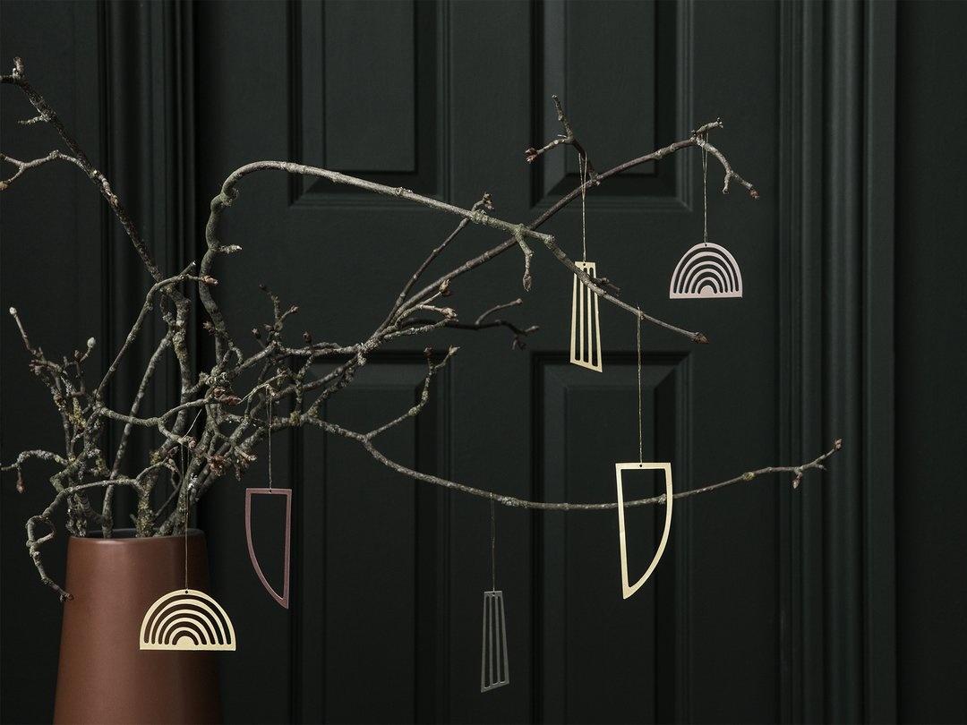 Golden Ornaments (set of 3)-3