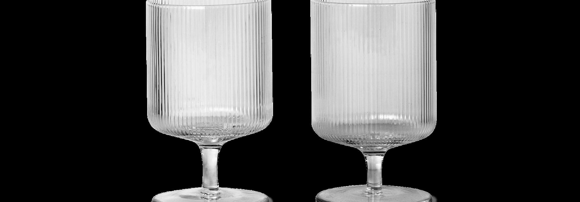 Ripple Wine Glasses (Set of 2)