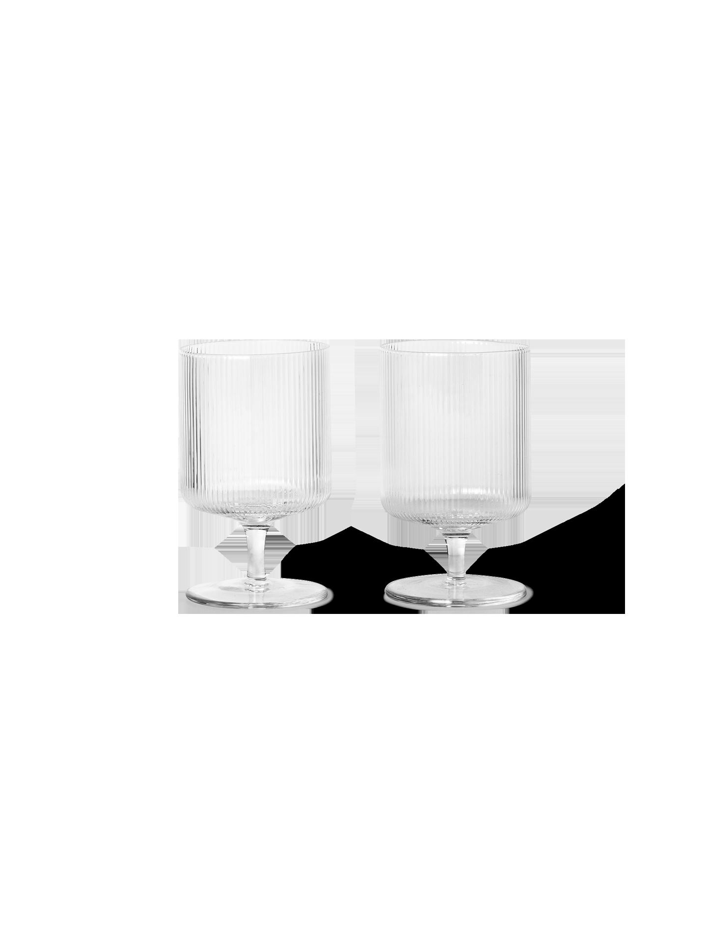 Ripple Wine Glasses (Set of 2)-1