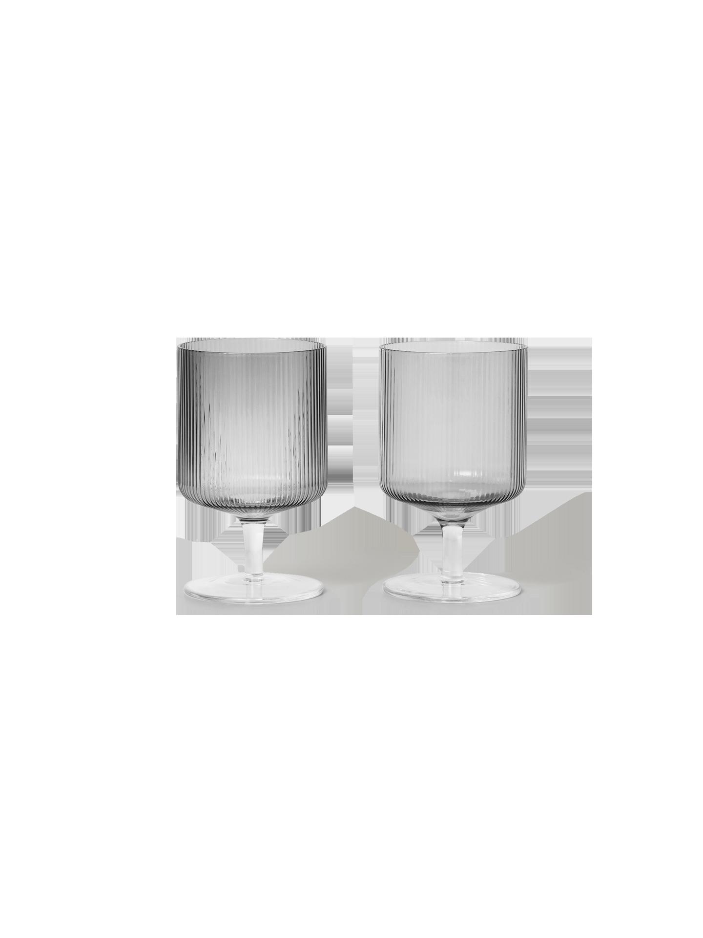 Ripple Wine Glasses (Set of 2)-5
