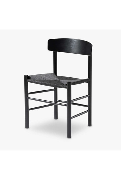J39 Chair black paper cord