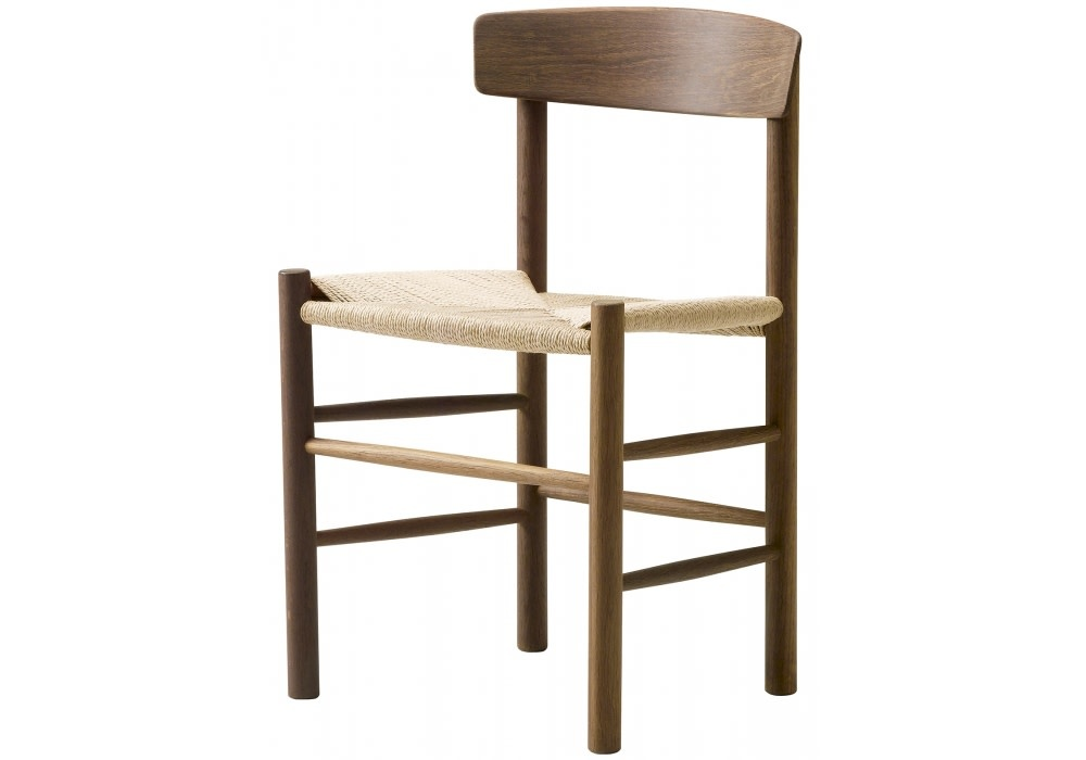 J39 Chair Walnut laquered oiled-1