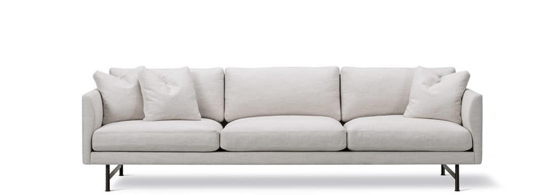 Calmo sofa 3 seater 80 metal