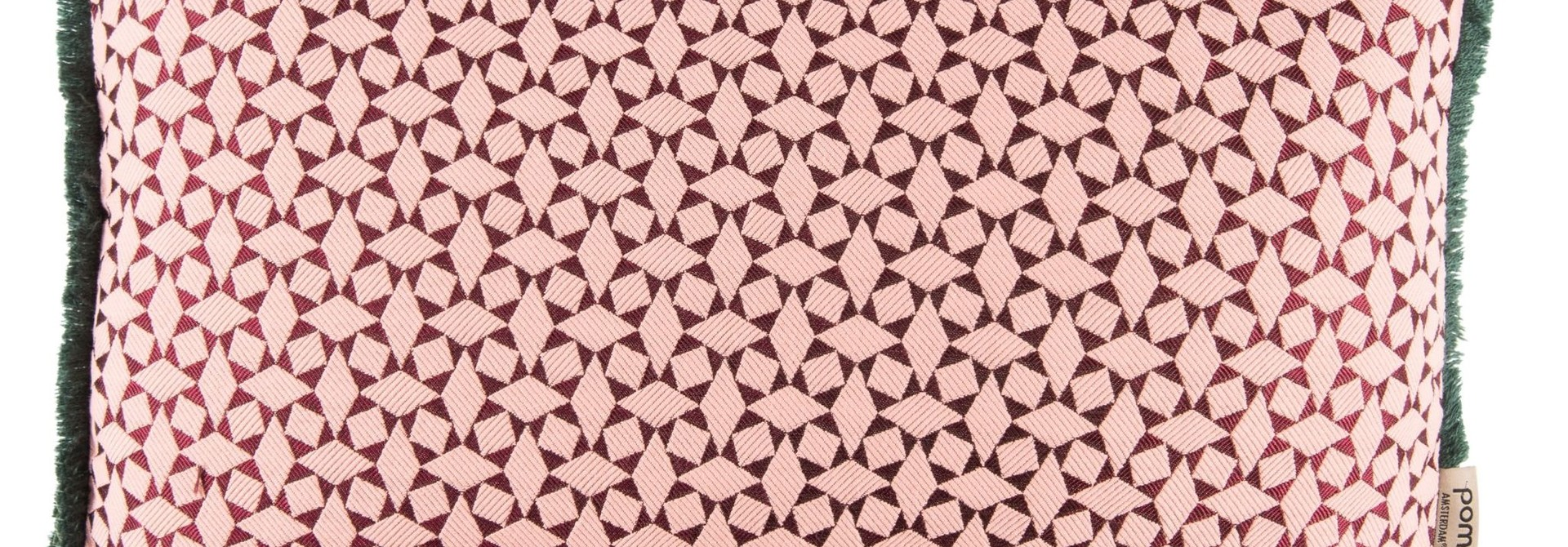 Diamonds Pink Cushion 30 x 50