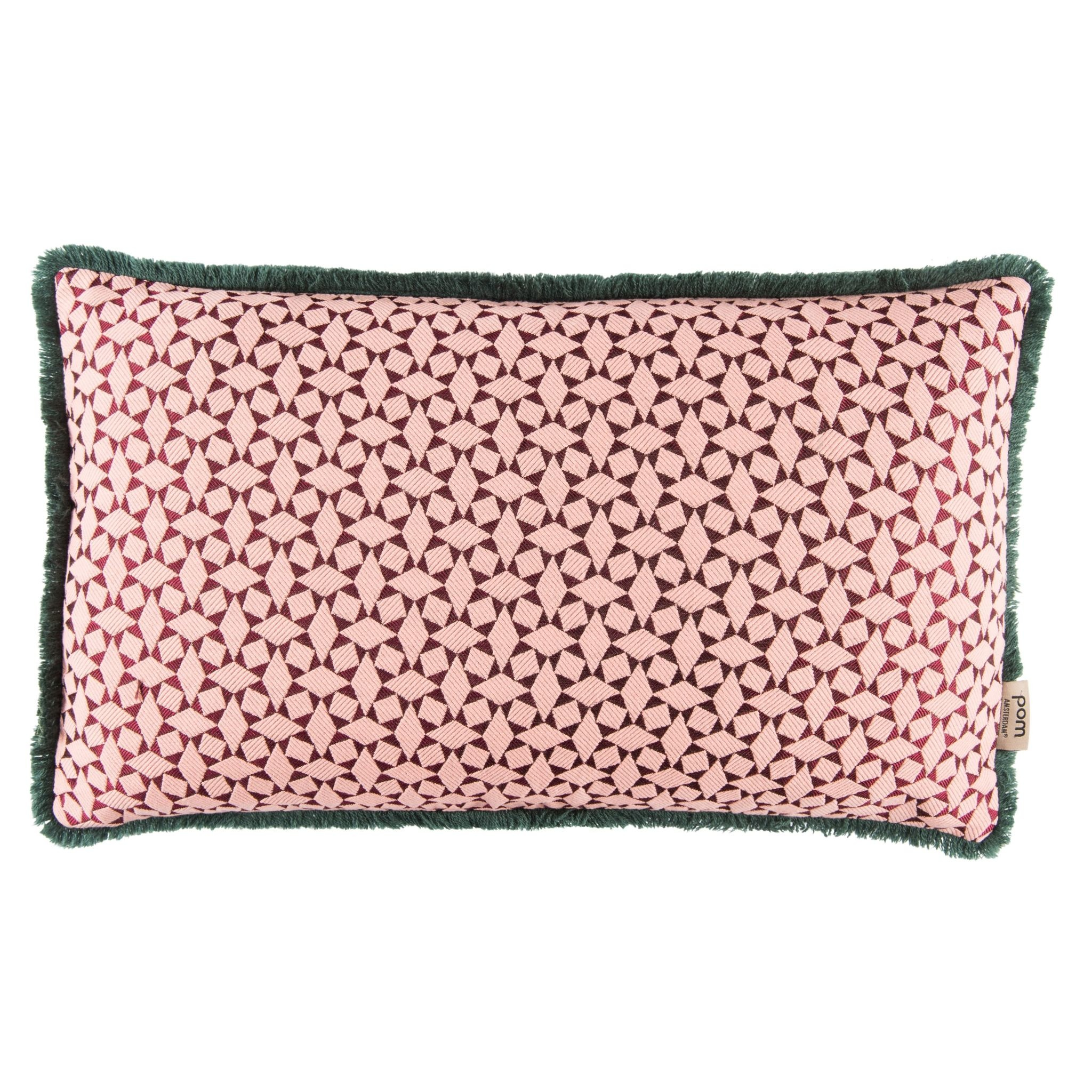 Diamonds Pink Cushion 30 x 50-1