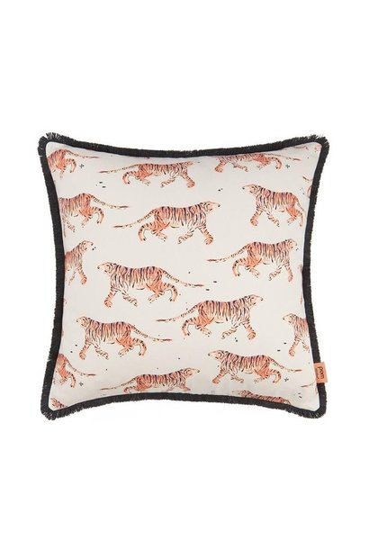 Indian Tiger Coral Cushion 50 x 50