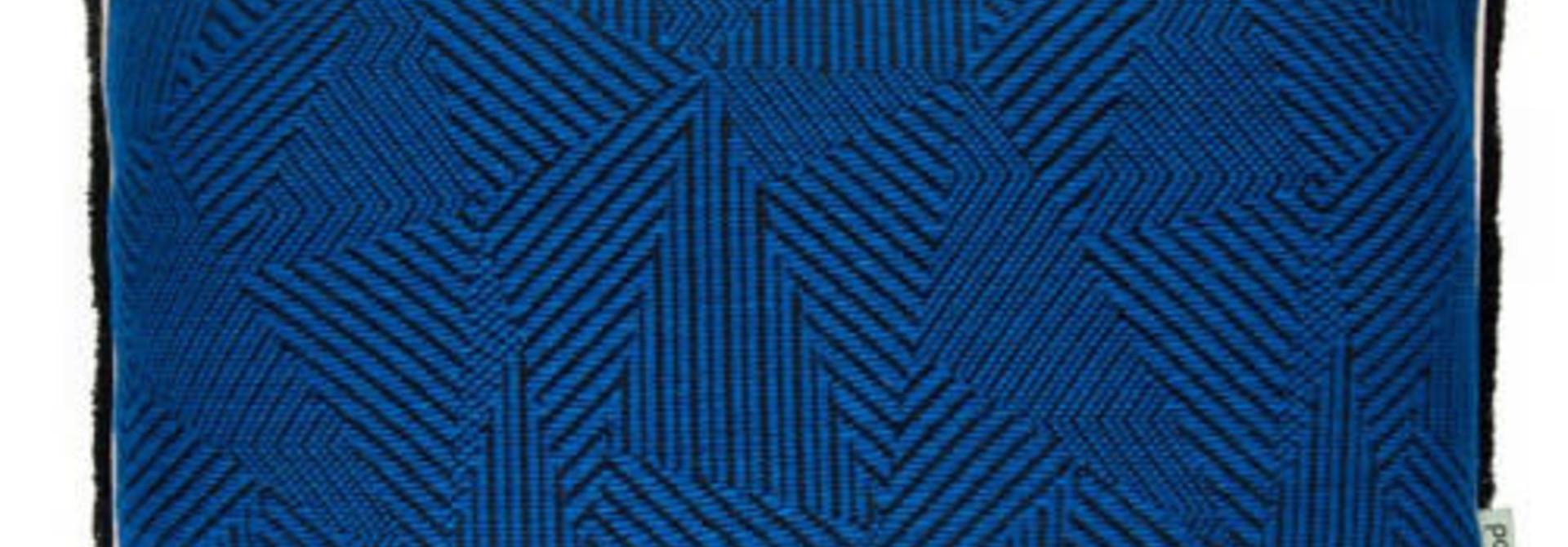 Royal Mousse Throw Blue 40 x 50