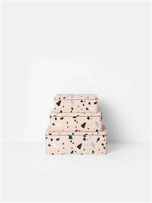 Tin boxes Terrazzo-1