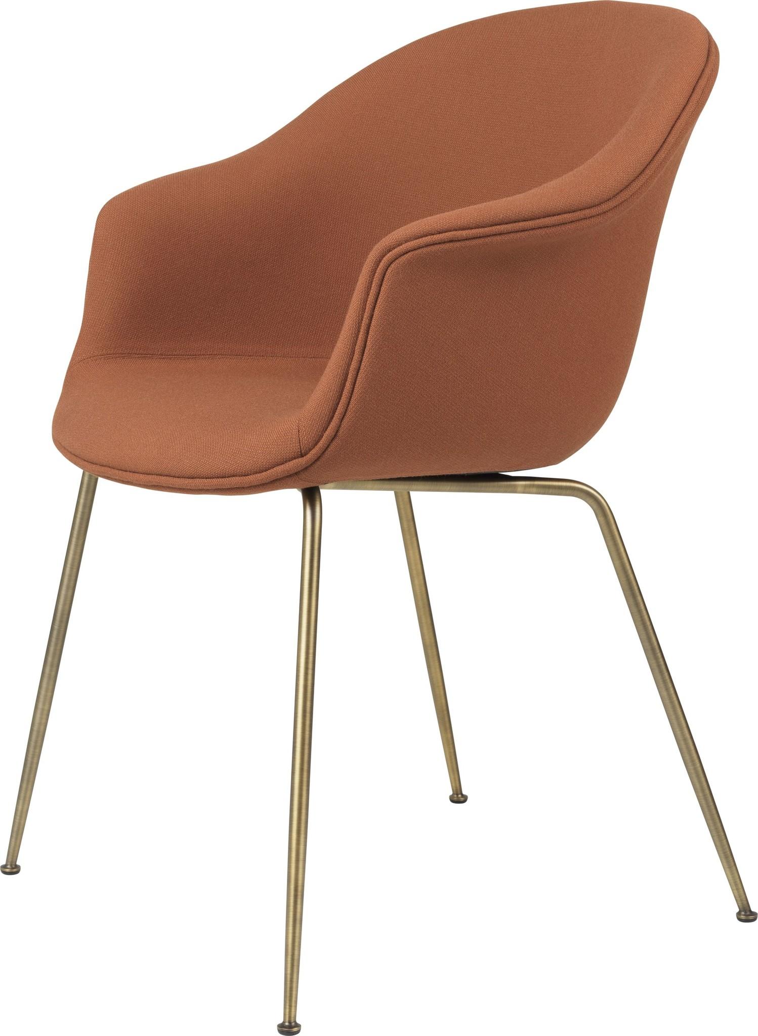 Bat Chair Volledig Gestoffeerd - Brass / Black - Vanaf € 898.00-1