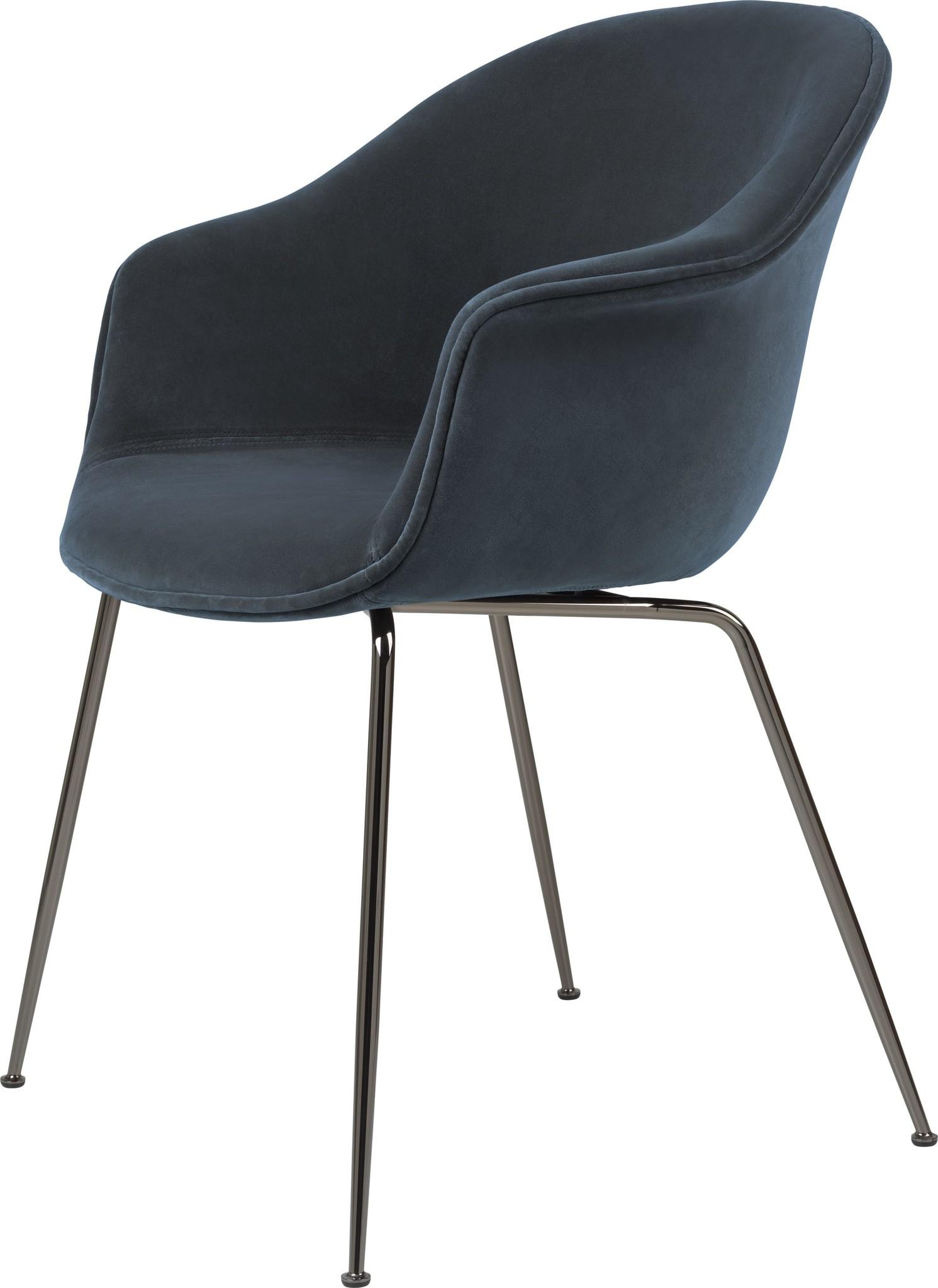 Bat Chair Volledig Gestoffeerd - Brass / Black - Vanaf € 898.00-3