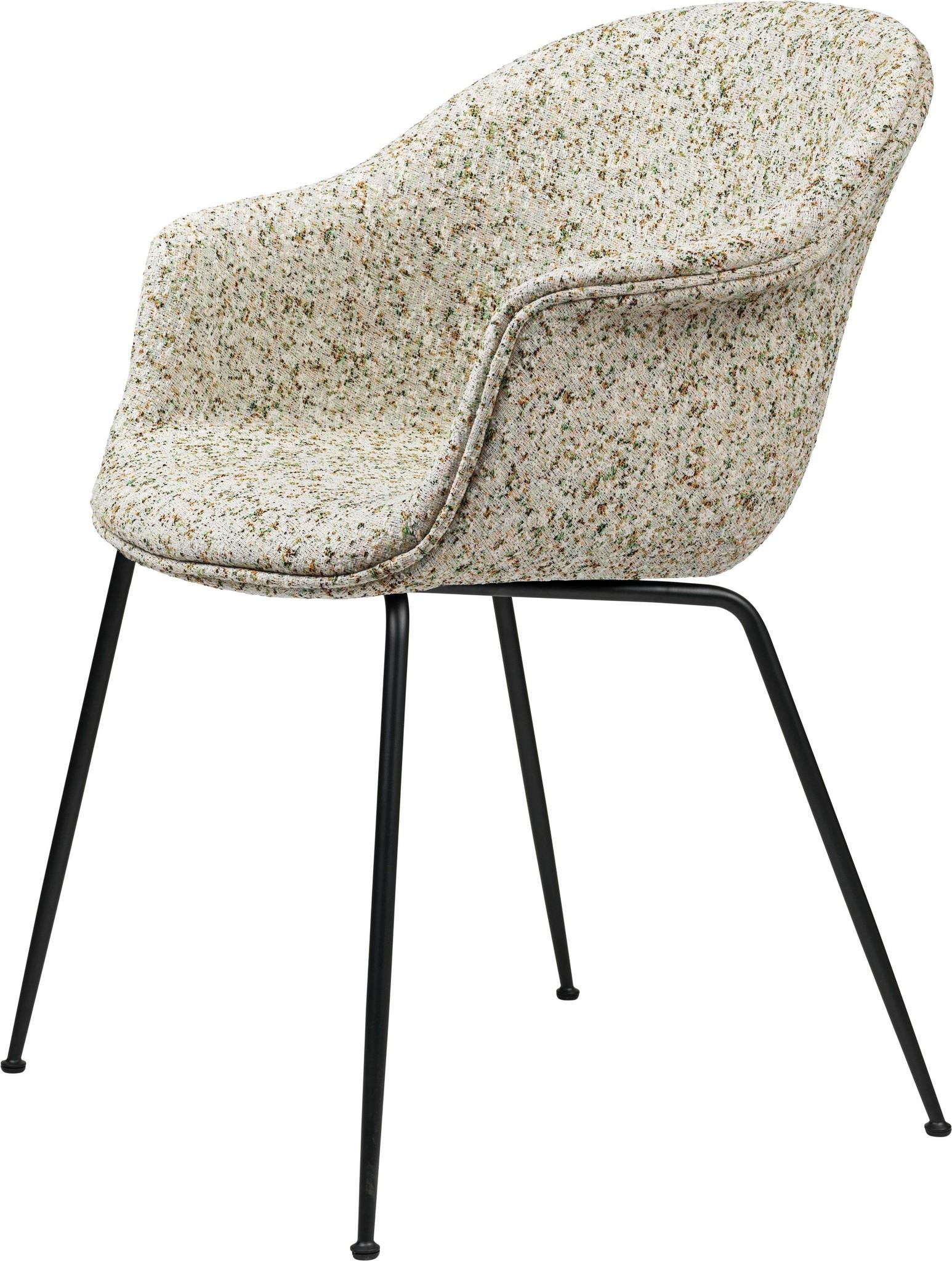 Bat Chair Volledig Gestoffeerd - Brass / Black - Vanaf € 898.00-4