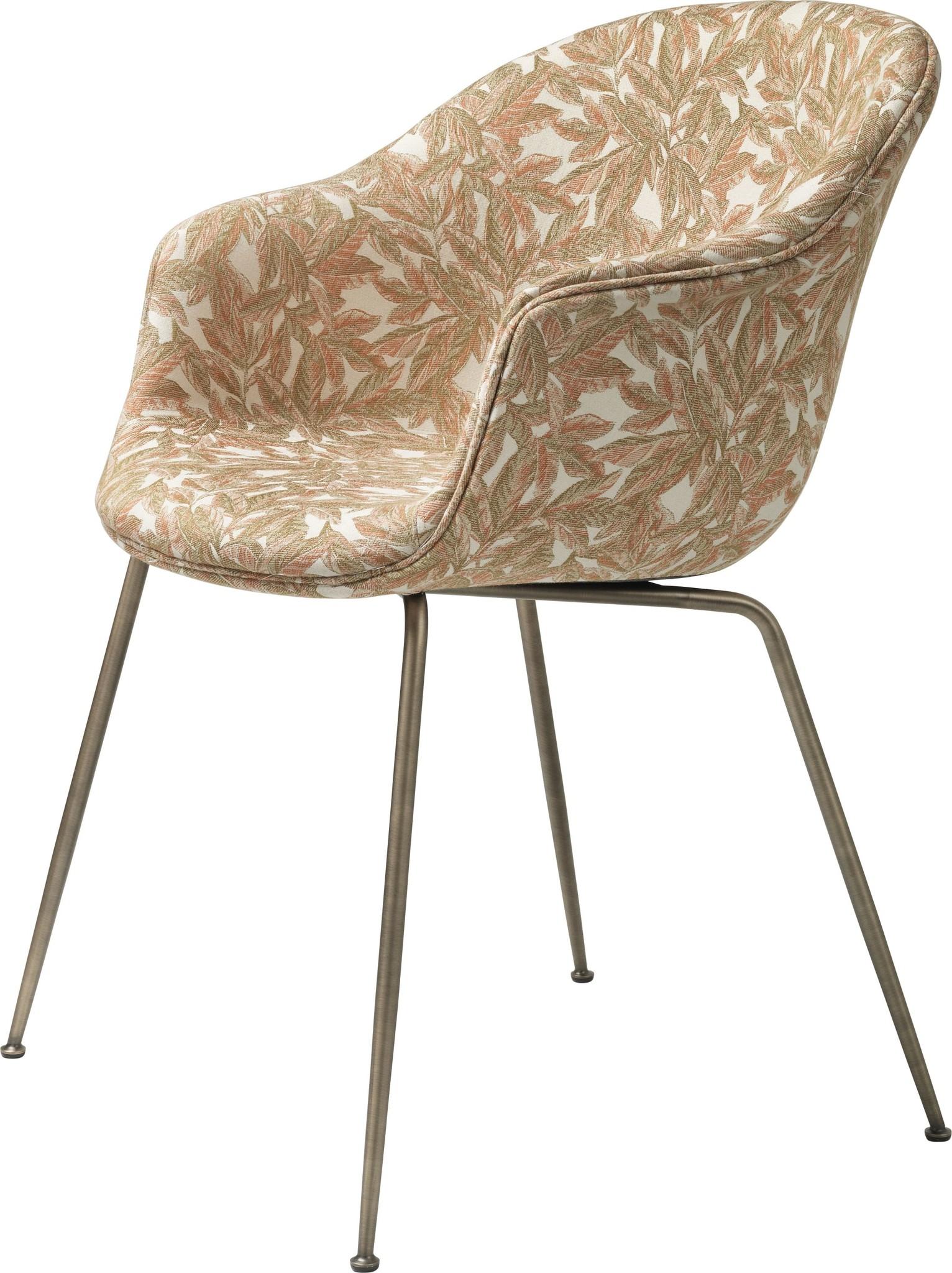 Bat Chair Volledig Gestoffeerd - Brass / Black - Vanaf € 898.00-5
