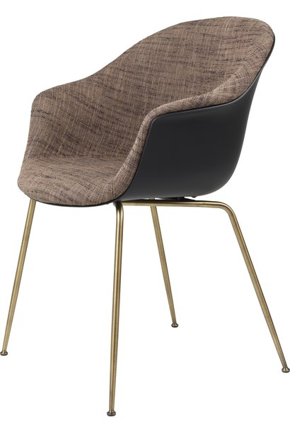 Bat Chair Half Gestoffeerd - Brass / Black - Vanaf € 619.00