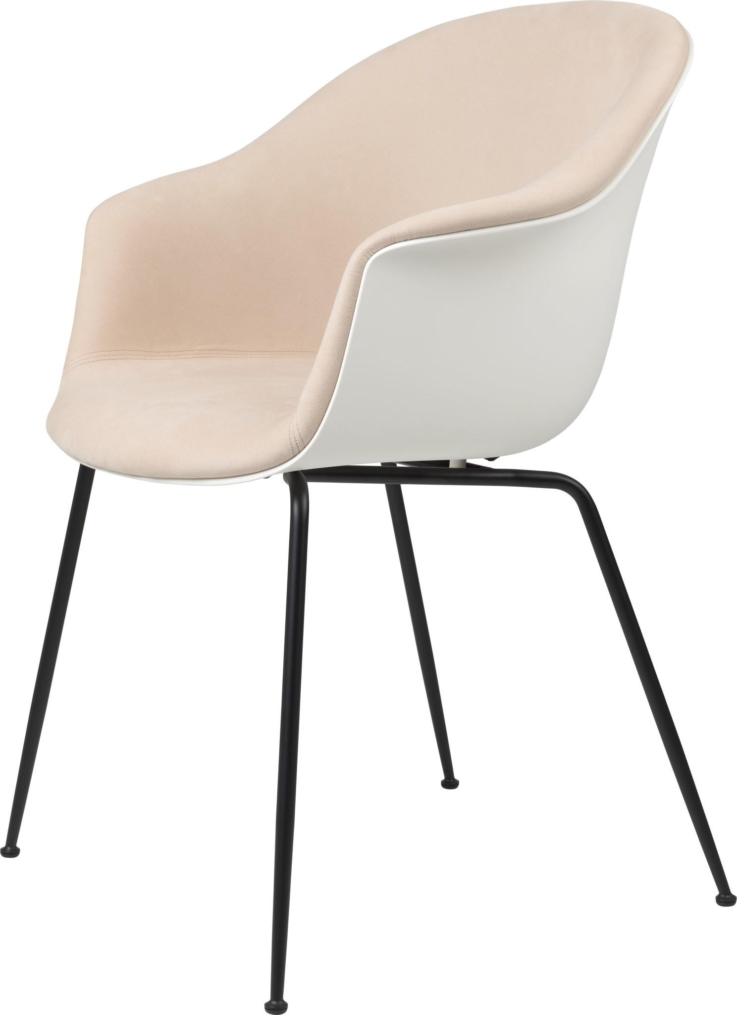 Bat Chair Half Gestoffeerd - Brass / Black - Vanaf € 619.00-1
