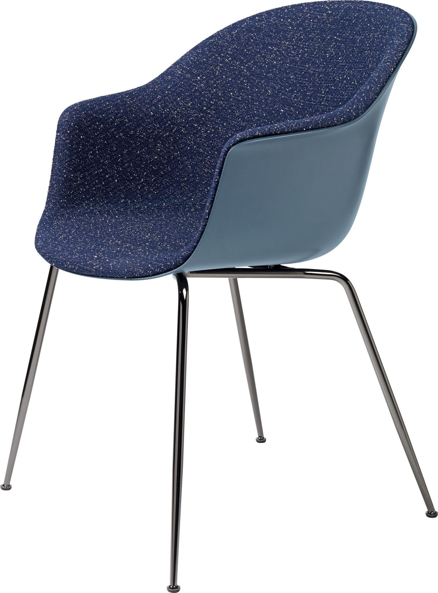 Bat Chair Half Gestoffeerd - Brass / Black - Vanaf € 619.00-3