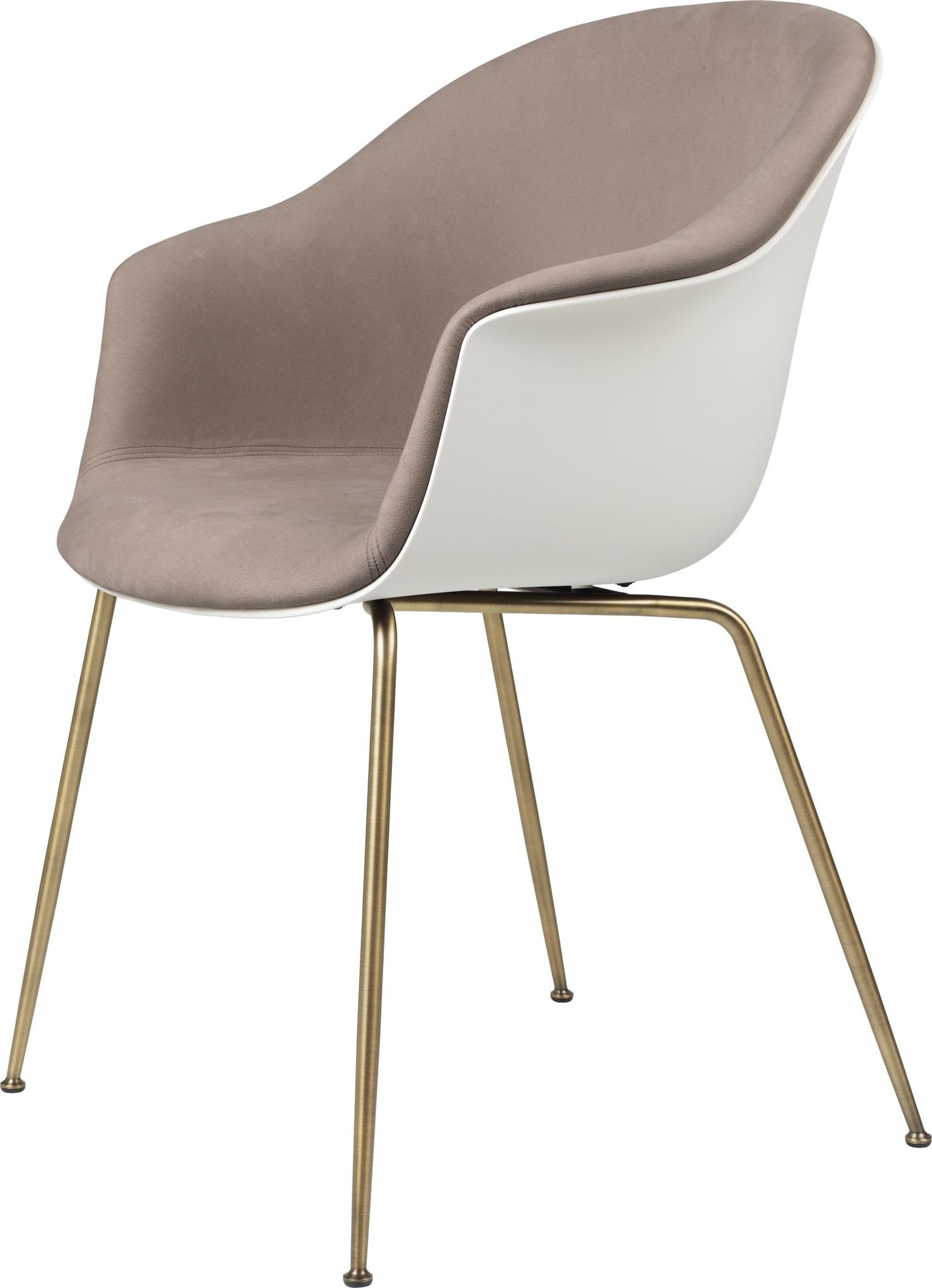 Bat Chair Half Gestoffeerd - Brass / Black - Vanaf € 619.00-4