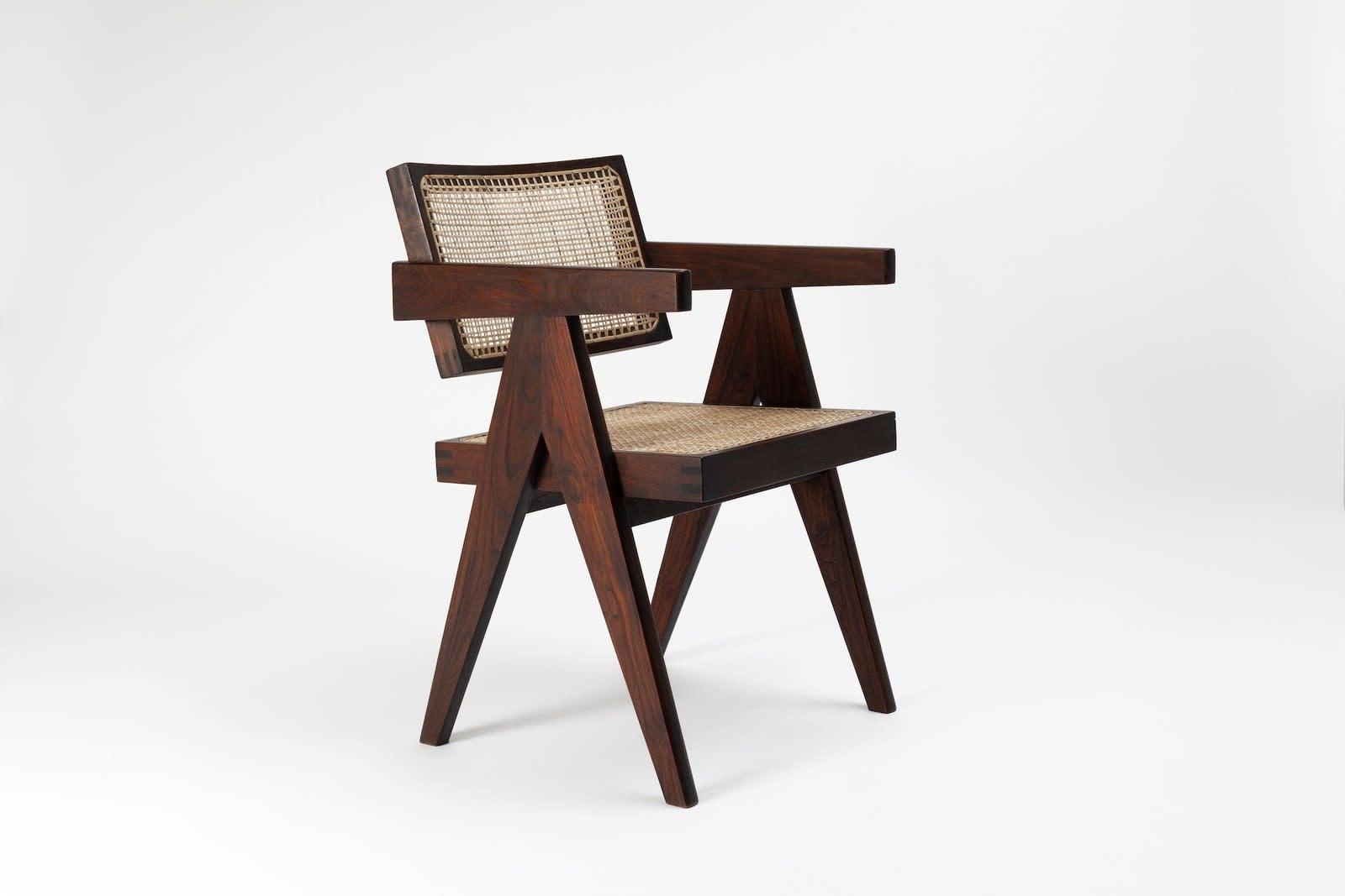 Pierre Jeanneret Office Chair-1
