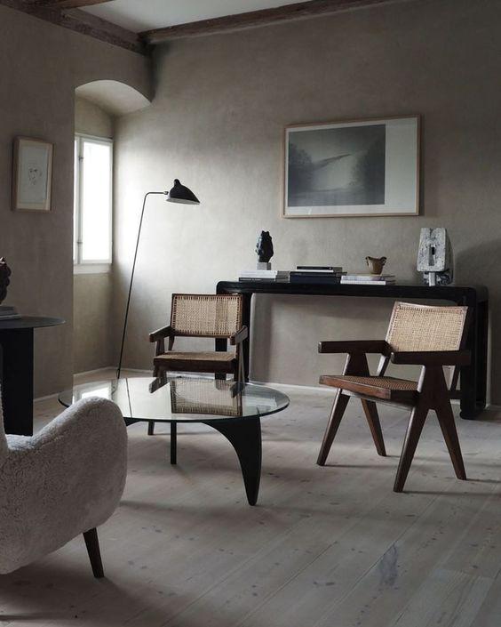 Pierre Jeanneret Office Chair-7