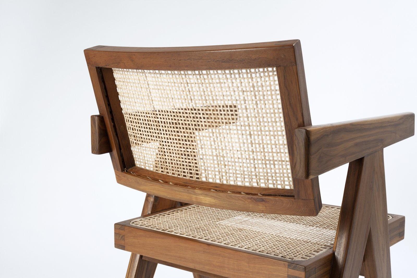 Pierre Jeanneret Office Chair-9