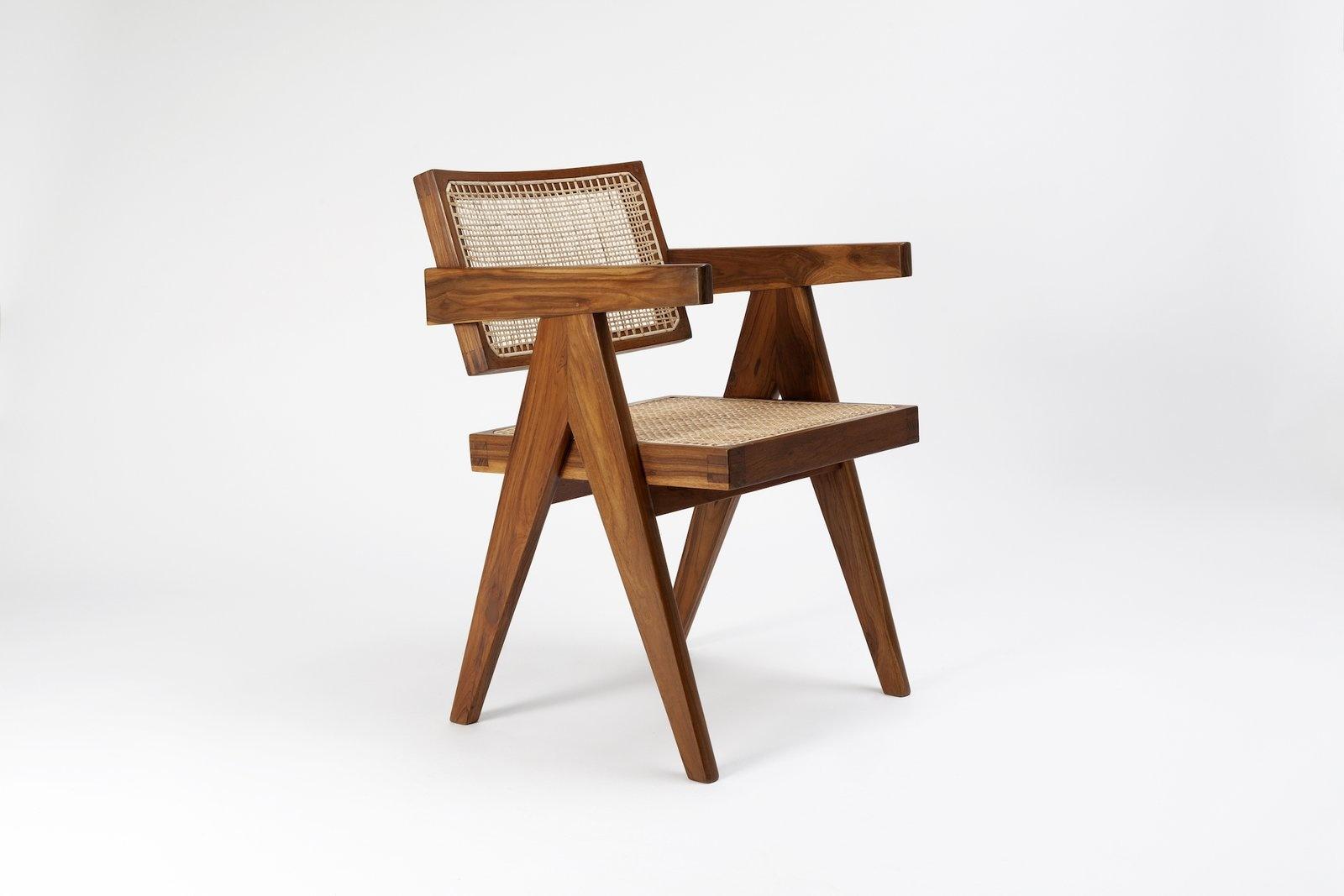 Pierre Jeanneret Office Chair-2