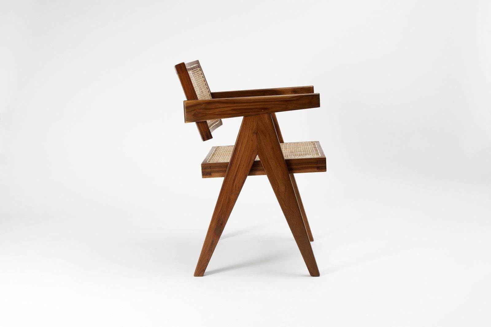 Pierre Jeanneret Office Chair-4