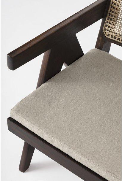 Italian Linen zit kussen - Pierre Jeanneret Chairs