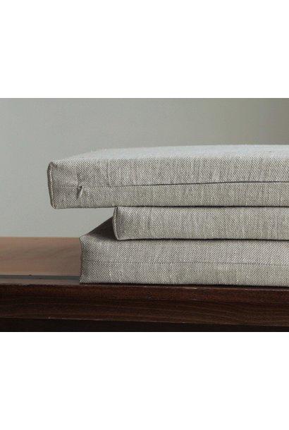 Italian linen kussen - Pierre Jeanneret Library Bench
