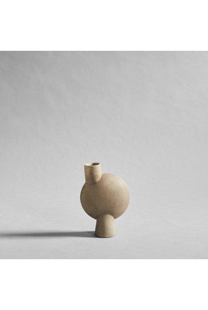 Sphere Vase Bubl Medio - Sand