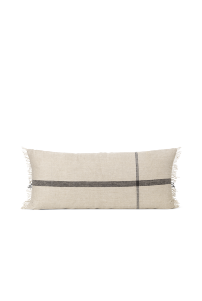 Calm Cushion 40 x 90 - Camel/Black