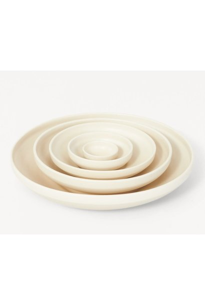 Shallow Bowl Set - Natural