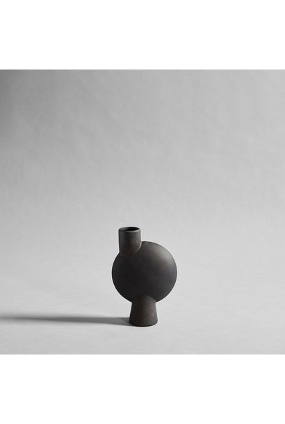 Sphere Vase Bubl - Medio - Coffee