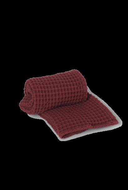 Organic Hand Towel - Cinnamon