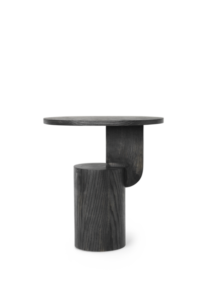 Insert - Side table - Black stained