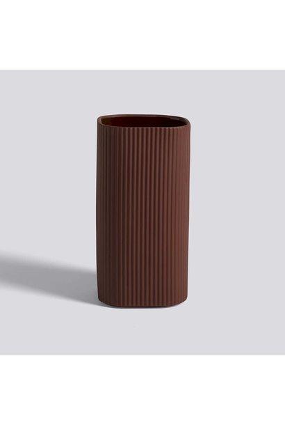 Facade - Vase Dark Terracotta