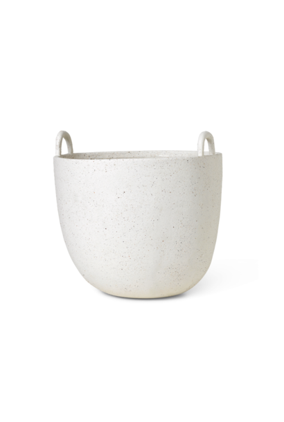 Speckle Pot - Large - Off White