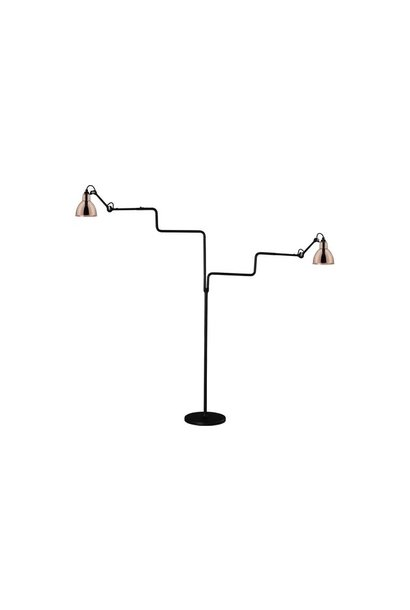 Lampe Gras N411 Double - Black Body