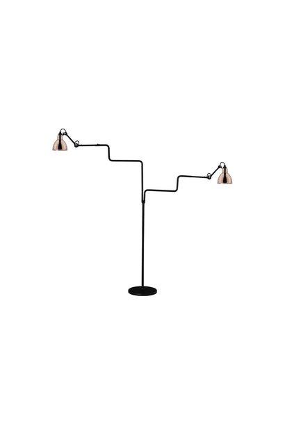 Lampe Gras N411 Double - Black Body