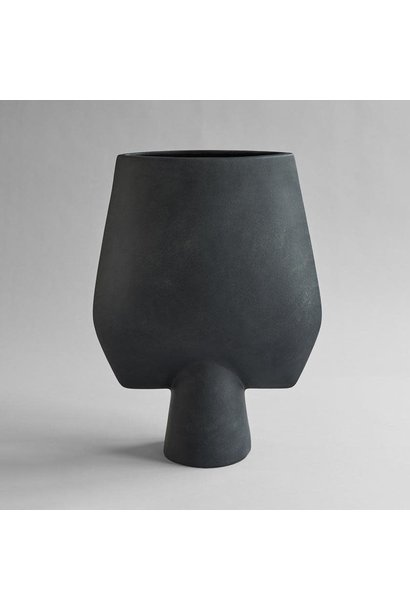 Sphere Vase Square - Hexa - Black